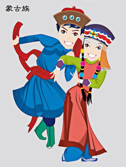 蒙古可爱小孩头像