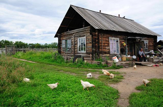 原野木屋别墅图片